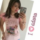 Camiseta Cahnnel Inspiration mangas